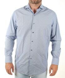 6dc773c3039 Guess by Marciano pánská modrá košile s drobným vzorem
