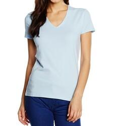 Tommy Hilfiger dámské bledě modré tričko Lizzy aed1b868ff