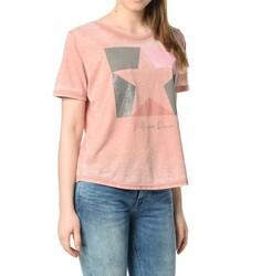 Tommy Hilfiger dámské starorůžové tričko Basic 03492a1701