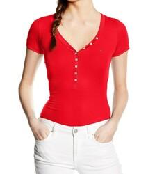 Tommy Hilfiger dámské červené tričko Basic 8fd640ab55